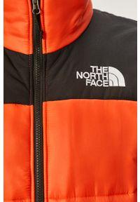 Pomarańczowa kurtka The North Face bez kaptura, na co dzień, casualowa