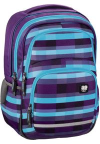 ALL OUT - All Out Plecak szkolny Blaby summer check purple