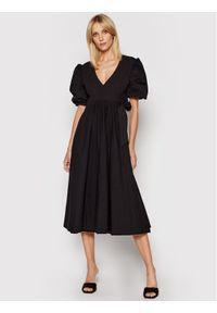 Birgitte Herskind Sukienka codzienna Lola 4012609 Czarny Relaxed Fit. Okazja: na co dzień. Kolor: czarny. Typ sukienki: proste. Styl: casual