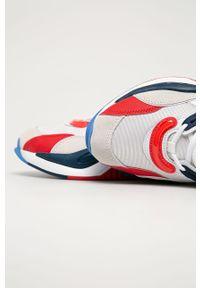 Szare sneakersy Puma z cholewką, z okrągłym noskiem #5