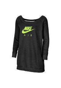 Bluza damska Nike NSW Air Crew CU5426. Materiał: polar, poliester, materiał, dzianina, bawełna. Długość: długie