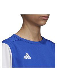Adidas - Koszulka piłkarska dla dzieci adidas Estro 19 Jr DP3217. Materiał: materiał, syntetyk, włókno, skóra, poliester. Długość rękawa: krótki rękaw. Technologia: ClimaLite (Adidas). Długość: krótkie. Sport: piłka nożna #4