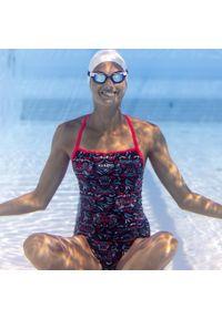 NABAIJI - Strój jednoczęściowy pływacki Jade All Mask damski. Kolor: turkusowy, niebieski, wielokolorowy. Materiał: poliamid, materiał, poliester. Długość: długie