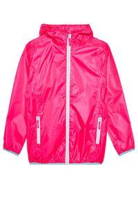 Różowa kurtka przeciwdeszczowa Playshoes