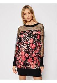 TwinSet Sukienka codzienna 202TP3501 Kolorowy Regular Fit. Okazja: na co dzień. Wzór: kolorowy. Typ sukienki: proste. Styl: casual