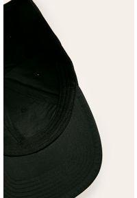 Czarna czapka z daszkiem Polo Ralph Lauren z nadrukiem