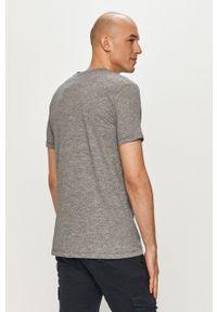 Tom Tailor - T-shirt. Okazja: na co dzień. Kolor: szary. Wzór: nadruk. Styl: casual