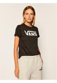 Czarny t-shirt Vans