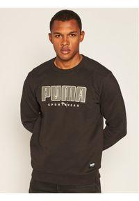 Puma Bluza Athletics Crew 583454 Czarny Regular Fit. Kolor: czarny