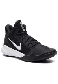 Czarne półbuty Nike z cholewką, na co dzień