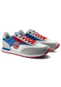 Big-Star - Sneakersy BIG STAR HH174248 Biały/Niebieski. Kolor: biały, wielokolorowy, niebieski