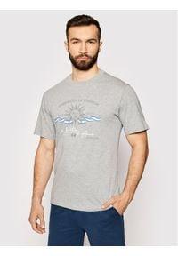 La Martina T-Shirt RMR015 JS206 Szary Comfort Fit. Kolor: szary