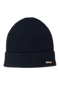 Niebieska czapka zimowa Calvin Klein