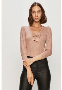 Różowy sweter Morgan