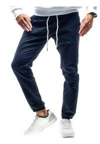 Czarne spodnie Recea