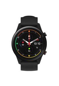 Czarny zegarek Xiaomi smartwatch, biznesowy