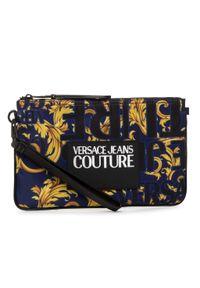 Niebieska kopertówka Versace Jeans Couture wizytowa