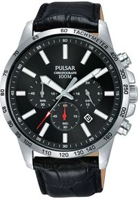 Zegarek Pulsar Zegarek Pulsar męski chronograf PT3A01X1 uniwersalny