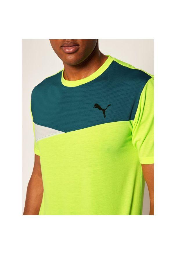 Żółta koszulka sportowa Puma