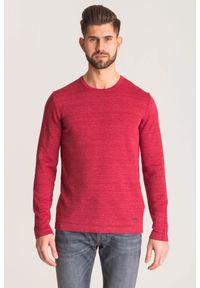 Czerwony sweter Joop! Collection z aplikacjami