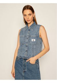 Niebieska kamizelka Calvin Klein Jeans