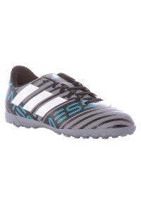 Adidas - Buty adidas Nemeziz Messi 17.4 TF CP9218 Jr. Materiał: tworzywo sztuczne, guma. Szerokość cholewki: normalna