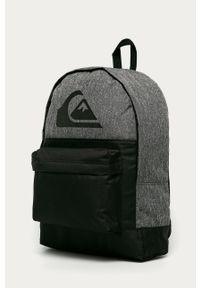 Czarny plecak Quiksilver z nadrukiem