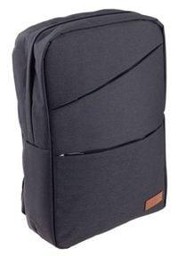 ROVICKY - Plecak męski czarny Rovicky NB9704-4368 BLACK. Kolor: czarny. Materiał: materiał. Styl: sportowy