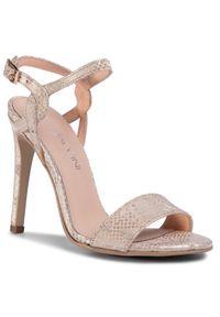 Złote sandały Baldaccini eleganckie