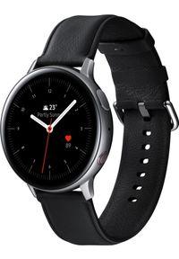 SAMSUNG - Smartwatch Samsung Galaxy Watch Active 2 Stainless Silver 44mm Czarny (SM-R825FSSADBT). Rodzaj zegarka: smartwatch. Kolor: czarny