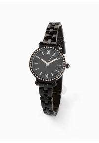 Czarny zegarek bonprix wizytowy