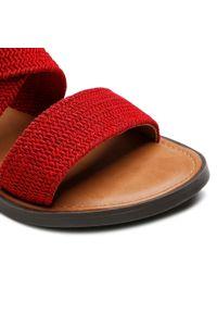 Refresh - Sandały REFRESH - 72646 Red. Okazja: na co dzień. Kolor: czerwony. Materiał: materiał. Sezon: lato. Styl: casual #7