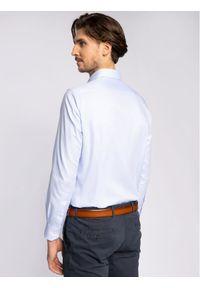 Niebieska koszula biznesowa Pierre Cardin