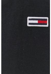 Tommy Jeans - Kurtka puchowa. Okazja: na co dzień. Kolor: czarny. Materiał: puch. Styl: casual