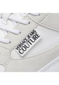 Versace Jeans Couture Sneakersy 71VA3SC2 Biały. Kolor: biały