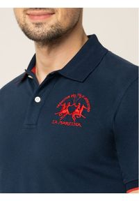 Niebieska koszulka polo La Martina polo