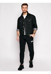 Jack & Jones - Jack&Jones Spodnie dresowe Gordon Newsoft 12178421 Czarny Regular Fit. Kolor: czarny. Materiał: dresówka