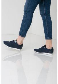 MEXX - Mexx - Buty Cato. Nosek buta: okrągły. Zapięcie: sznurówki. Kolor: niebieski. Materiał: skóra, guma