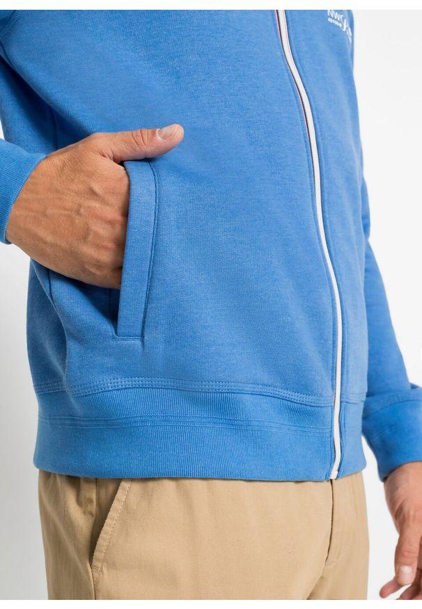 Niebieska bluza bonprix
