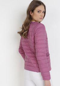 Fioletowa kurtka przejściowa Born2be
