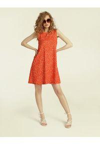 Madnezz - Sukienka Summer Gal 2.0 - Carnaval Print. Materiał: wiskoza, elastan. Wzór: nadruk