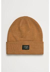 Brązowa czapka Jack & Jones