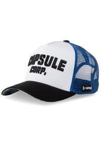 CapsLab - Czapka z daszkiem CAPSLAB - Cl/DBZ4/1/COR Kolorowy Niebieski. Kolor: niebieski. Materiał: materiał, bawełna, poliester. Wzór: kolorowy