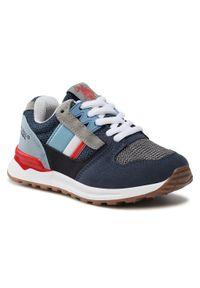 U.S. Polo Assn - Sneakersy U.S. POLO ASSN. - Joe JOE4097S1/HM1 Avio/Ligr. Kolor: niebieski. Materiał: skóra ekologiczna, materiał, skóra