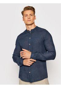 Imperial Koszula CYW6BKCTD Granatowy Regular Fit. Kolor: niebieski