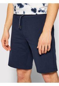 Guess Szorty sportowe Nigel M1GD54 K6ZS1 Granatowy Slim Fit. Kolor: niebieski