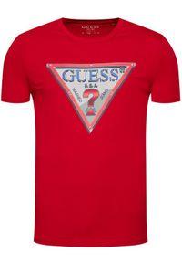 Czerwony t-shirt Guess #5