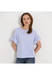 Niebieska bluzka Mohito
