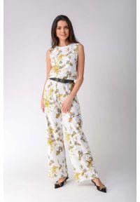 Żółty kombinezon Nommo w kwiaty