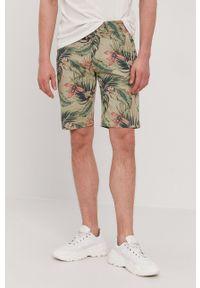 Pepe Jeans - Szorty Mc Queen. Okazja: na co dzień. Kolor: zielony. Styl: casual